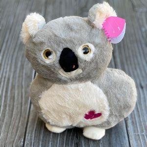 "Aussie Koala Bear Plush Fluffy Stuffed Animal 10"""